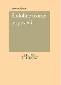 Cover for Sodobne teorije pripovedi