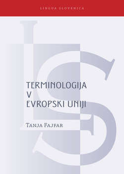 Cover for Terminologija v Evropski uniji