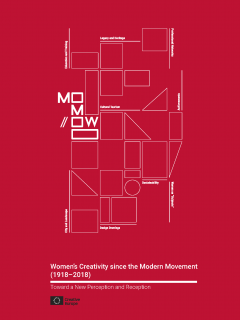 Cover for Women's Creativity since the Modern Movement (1918–2018). Toward a New Perception and Reception
