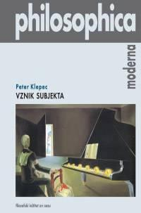 Cover for Vznik subjekta