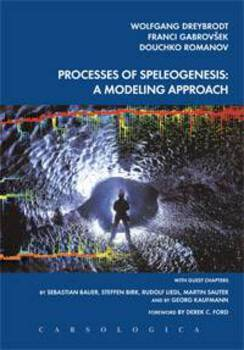 Cover for Processes of Speleogenessis. A modeling approach