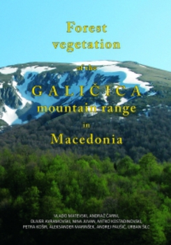 Cover for Forest Vegetation of Galičica Mountain Range in Macedonia