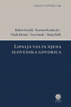 Cover for Lipalja vas in njena slovenska govorica