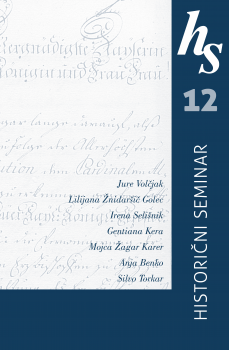 Cover for Historični seminar 12