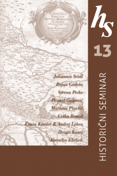 Cover for Historični seminar 13