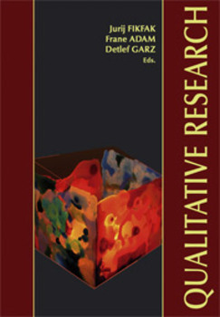 Cover for Qualitative Research / Kvalitativno raziskovanje. Different perspectives, emerging trends / Različne perspektive – nastajajoče težnje
