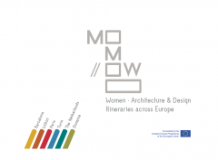 Cover for MoMoWo. Women. Architecture & Design Itineraries across Europe