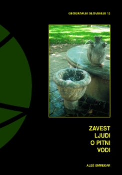Cover for Zavest ljudi o pitni vodi